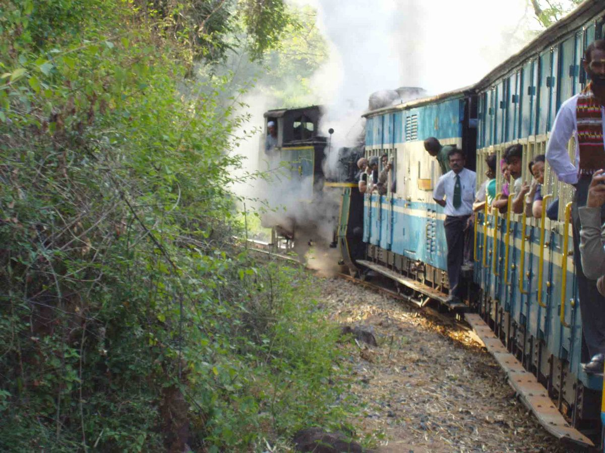 Steaming Train