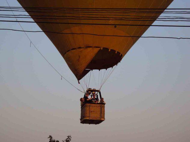 Balloon Flying in Vang Vieng