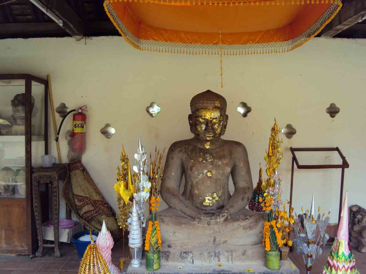 Buddha im Heiligtum