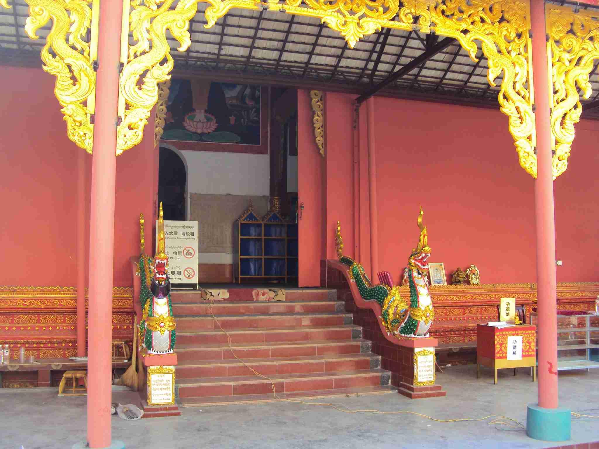 Temple in Jinghong