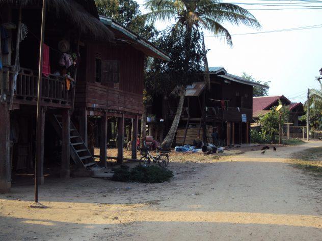 Abgeschiedenes Dorf