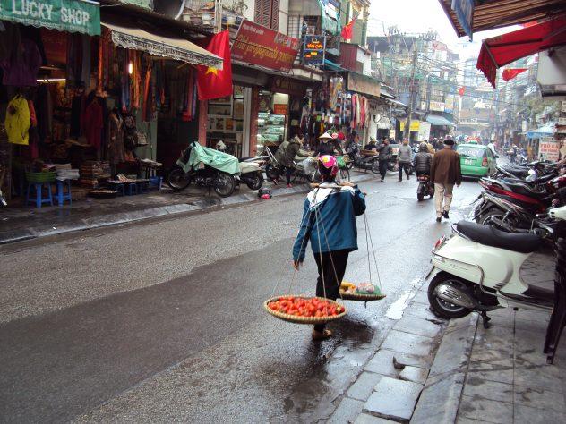 Alte Ladies in Hanoi