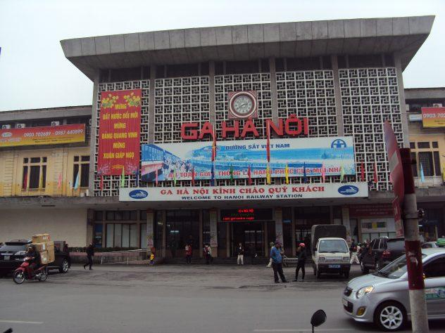 Bahnhof in Hanoi