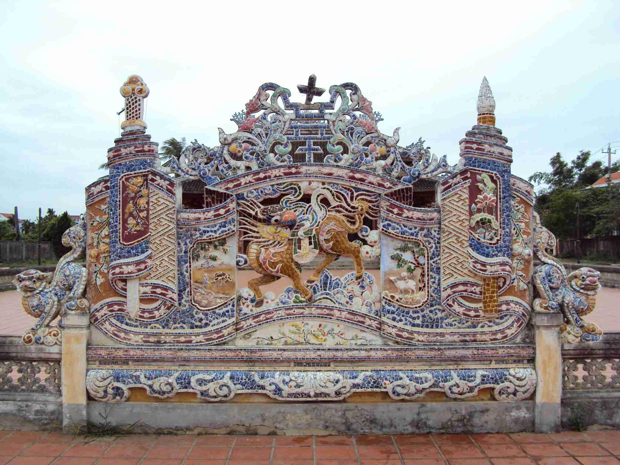 Kunstwerk in Hoi An