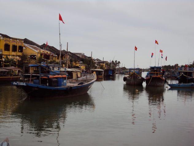 Hafen in Hoi An