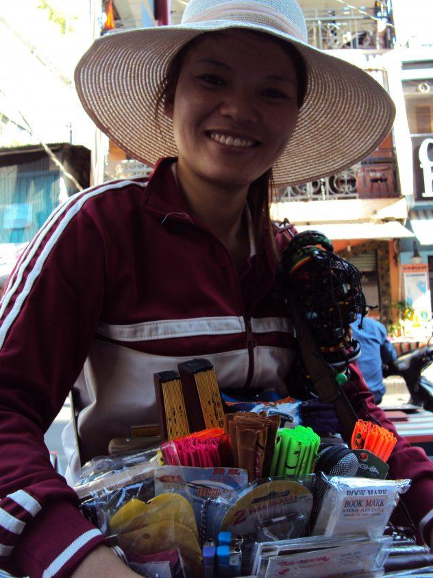Verkauf in Saigon