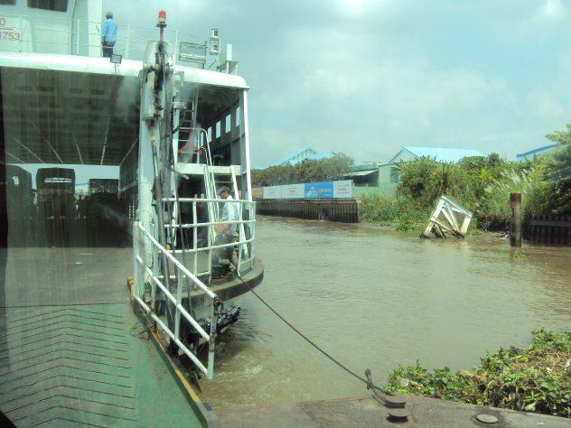 Kanäle und Flussarme