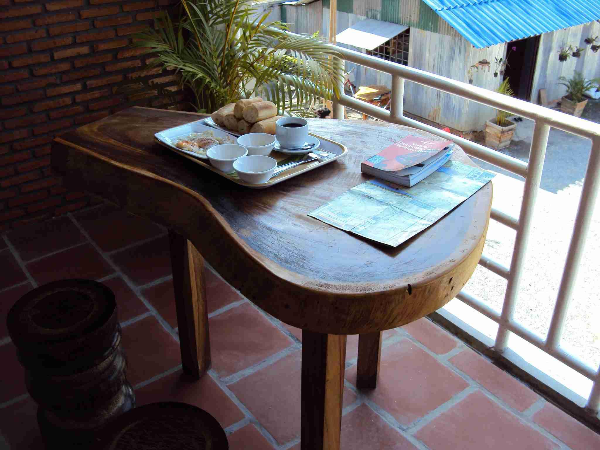 My terrace - my breakfast