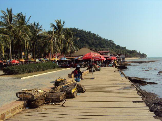 Ufer bei Kep