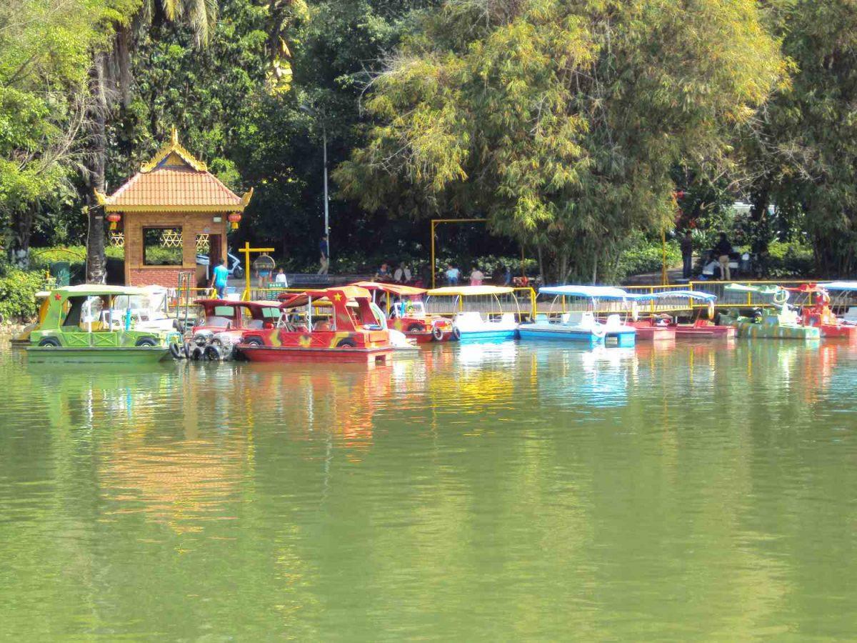 Lake in Jinghong