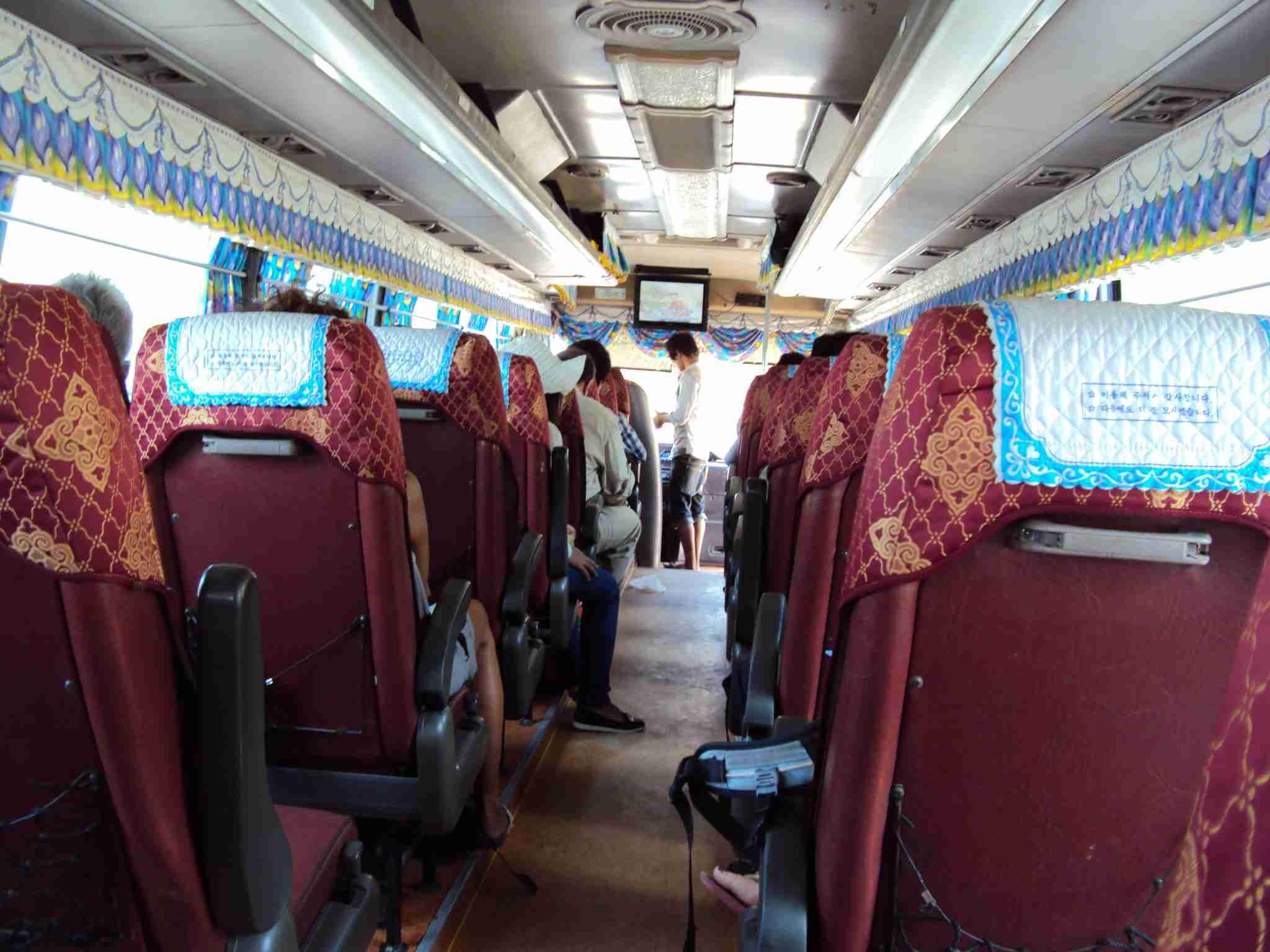 Bus to Kampot