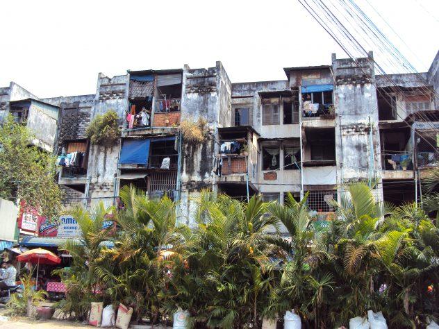 Häuser in Phnom Penh