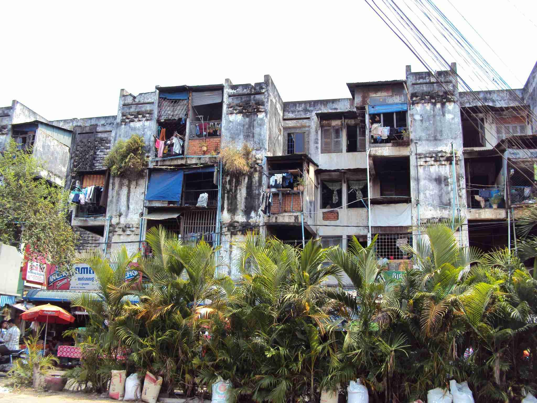 Houses in Phnom Penh