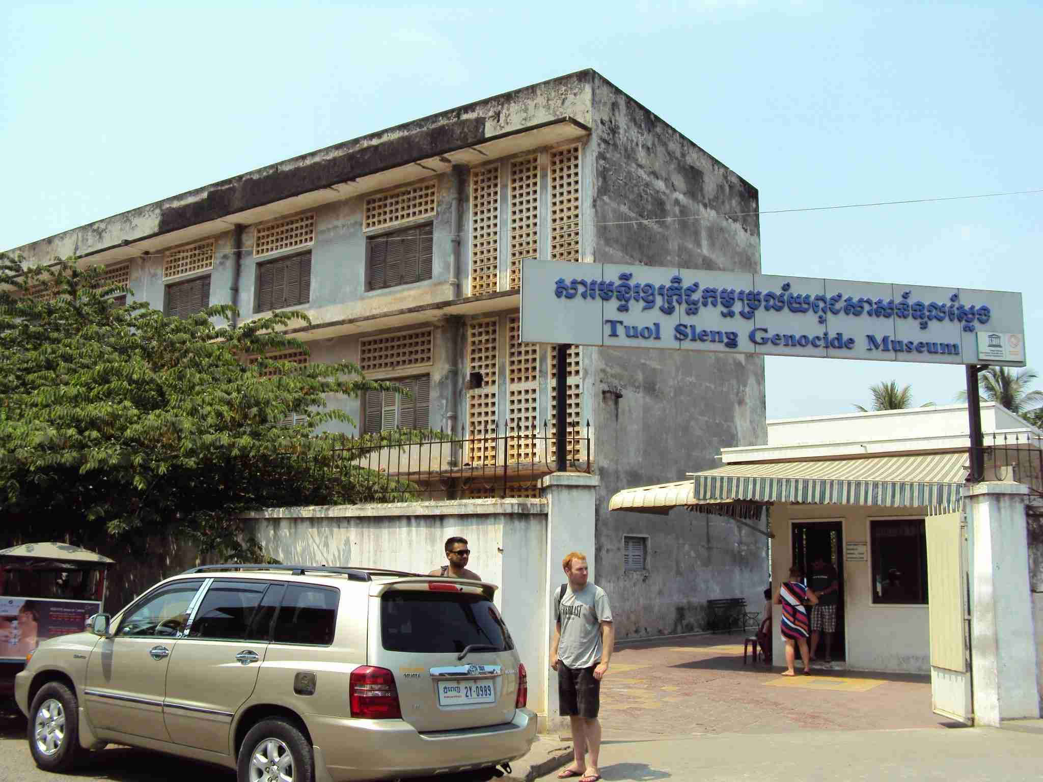 The Tuol Sleng Genozide Museum in Phnom Penh