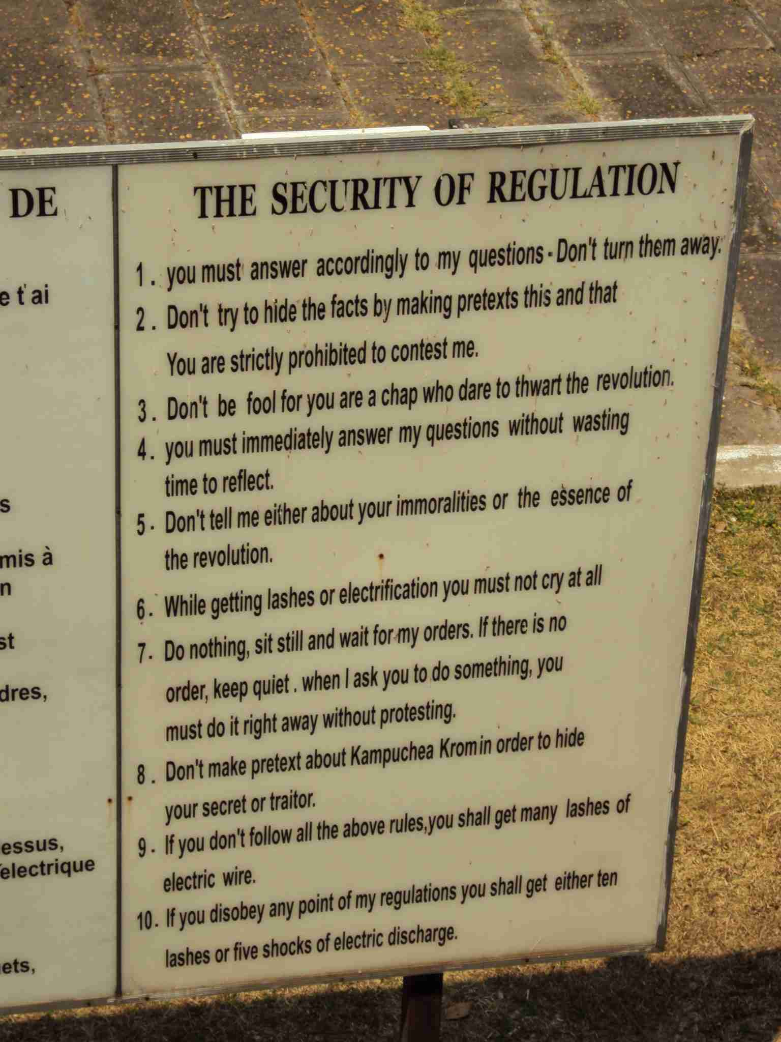 The Security of Regulation