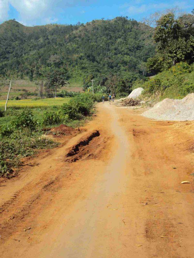 the road belongs to us