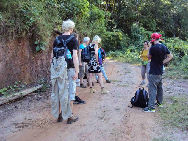 Our Group on the Trek