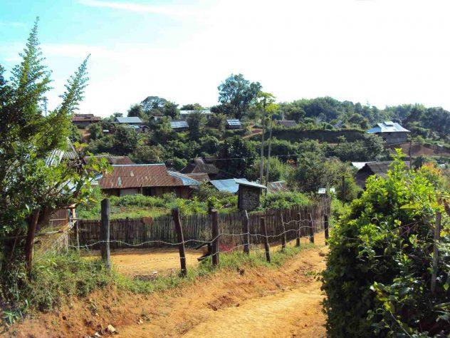 Village on the way