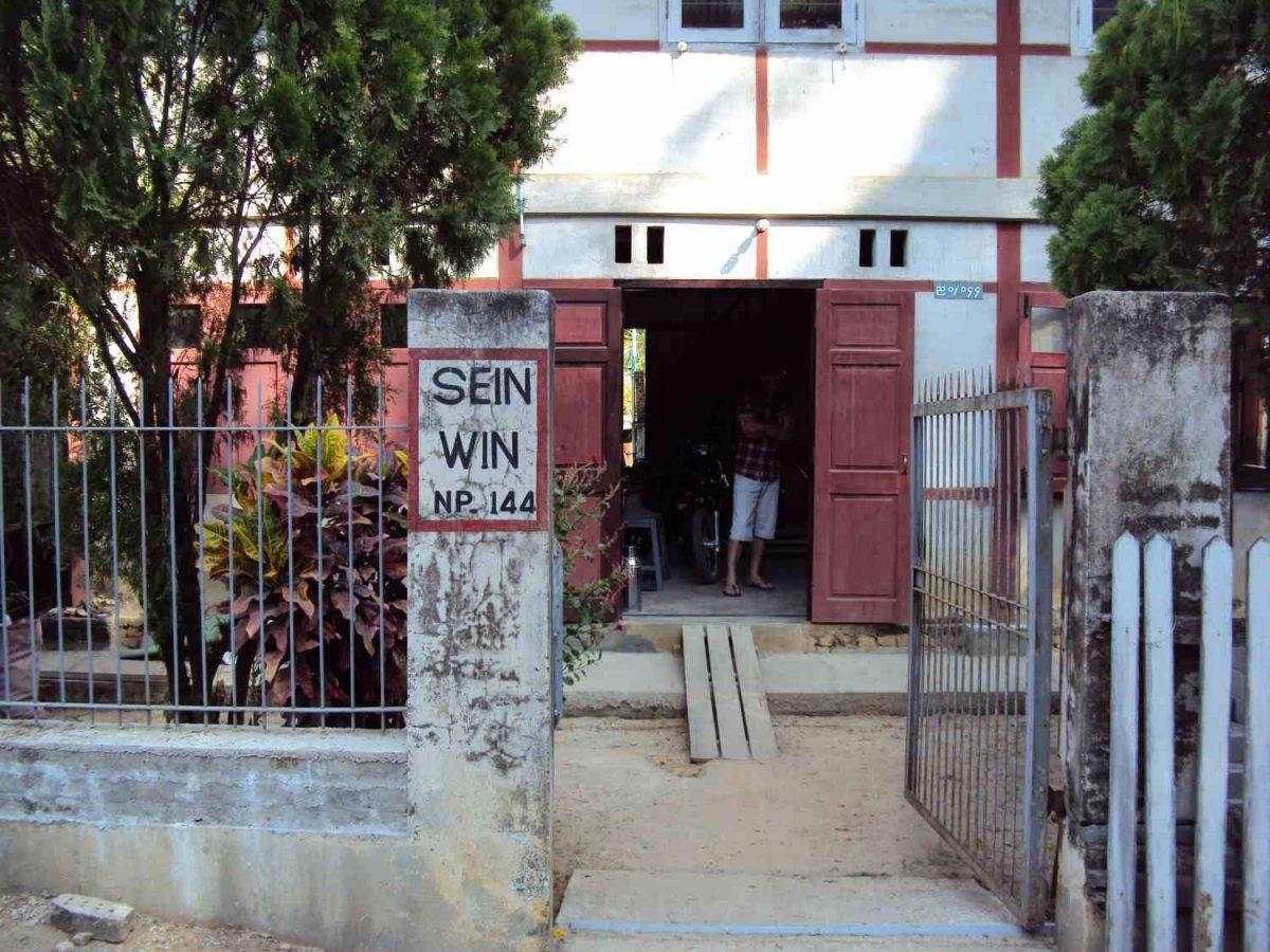 Mr. Sein Wins Haus und Werkstatt