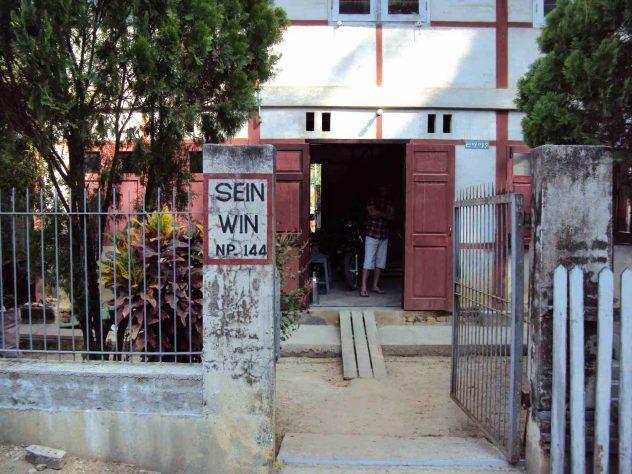 Mr Sein Wins house