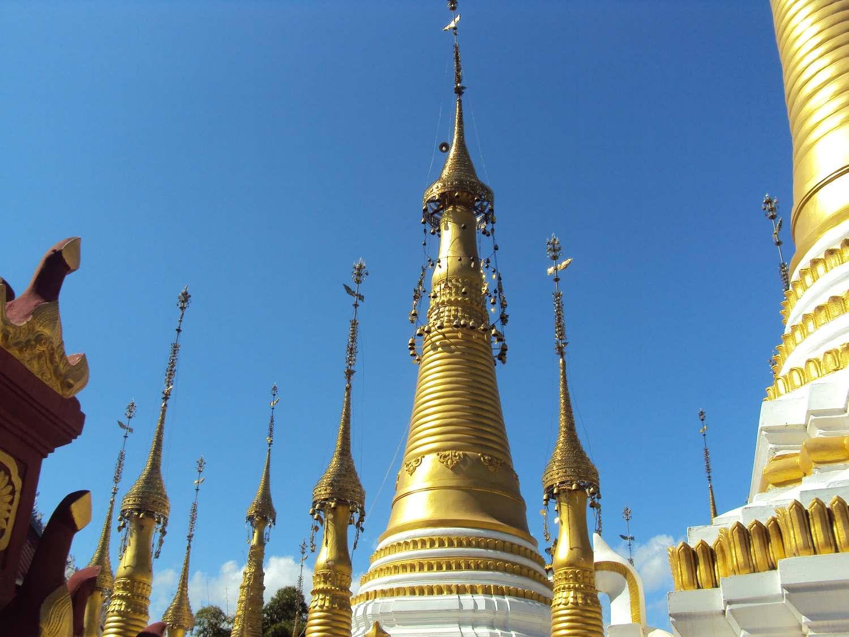 Golden turrets pierce the sky