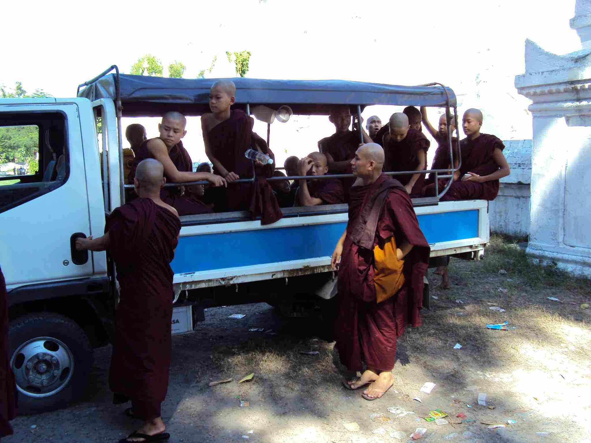 Monks and Samaneras