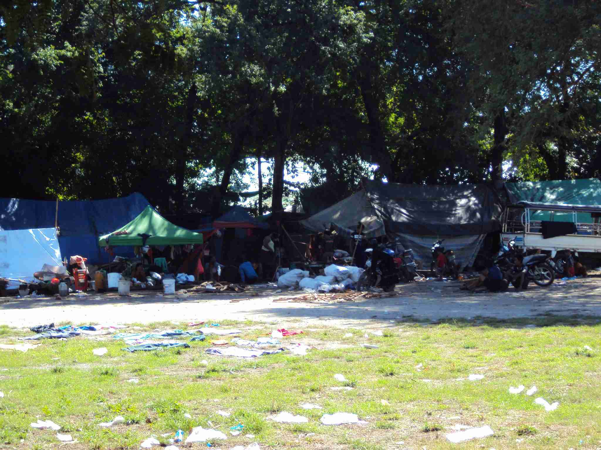 Slums near Hill