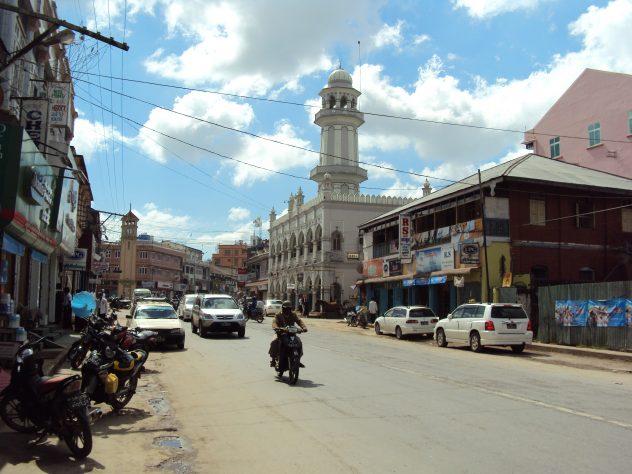 famous Church tower in Pyin U Lwin
