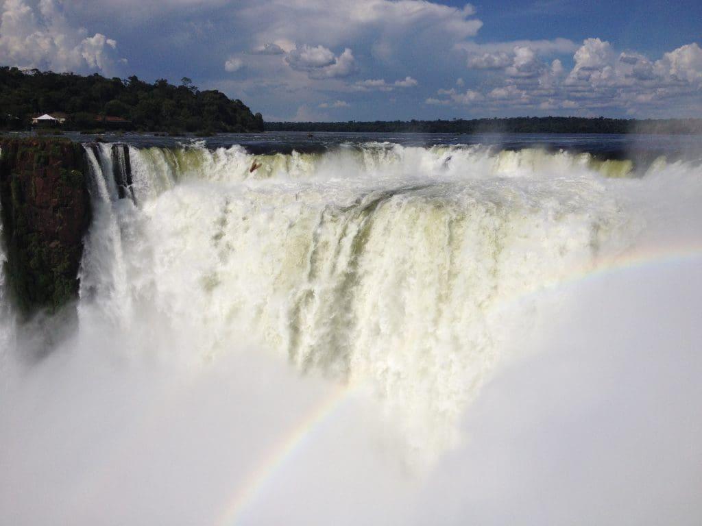 Backpacking in Südamerika - Iguazu-Wasserfälle