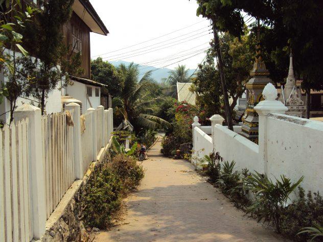 Gassen in Luang Prabang