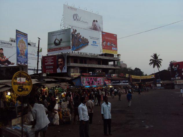 Früher Morgen in Trivandrum