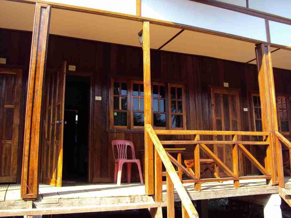 Zimmer auf Dom Khon