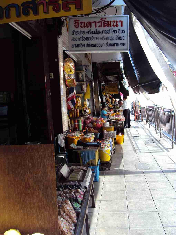 Läden in Bangkok