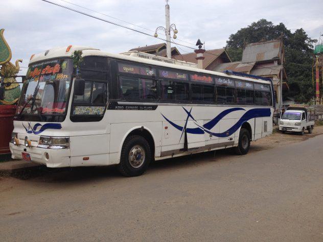 Bus to Mandalay