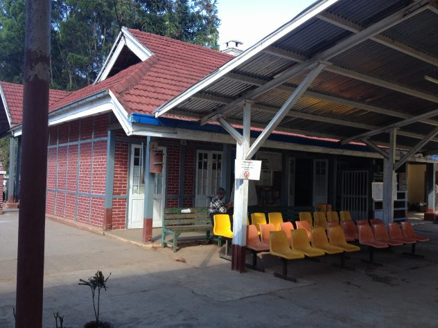 train station in Kalaw