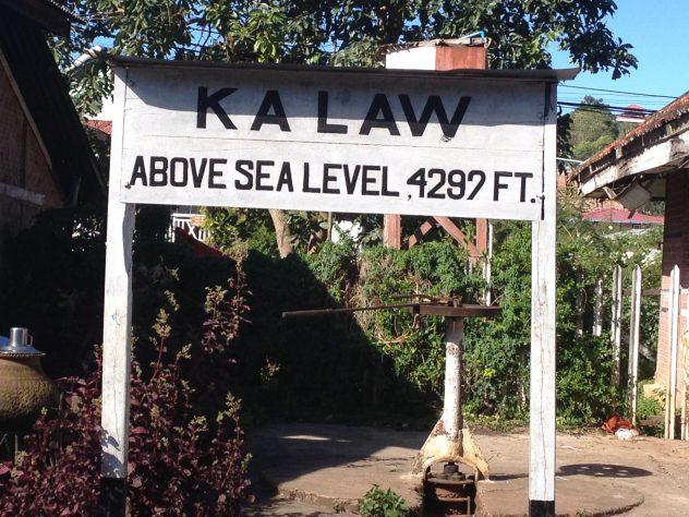 1300 Meters above sea level