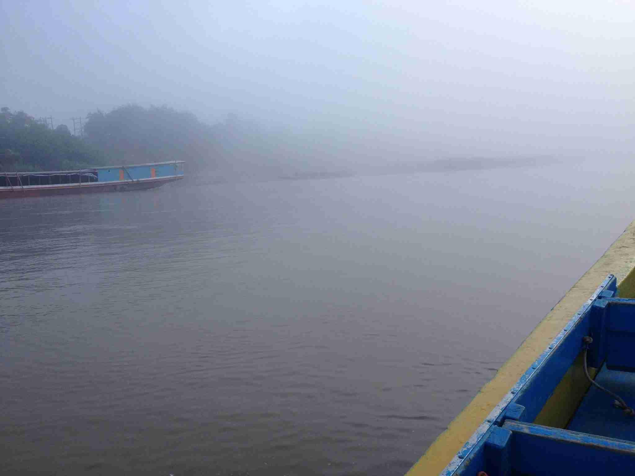 Foggy Mekong