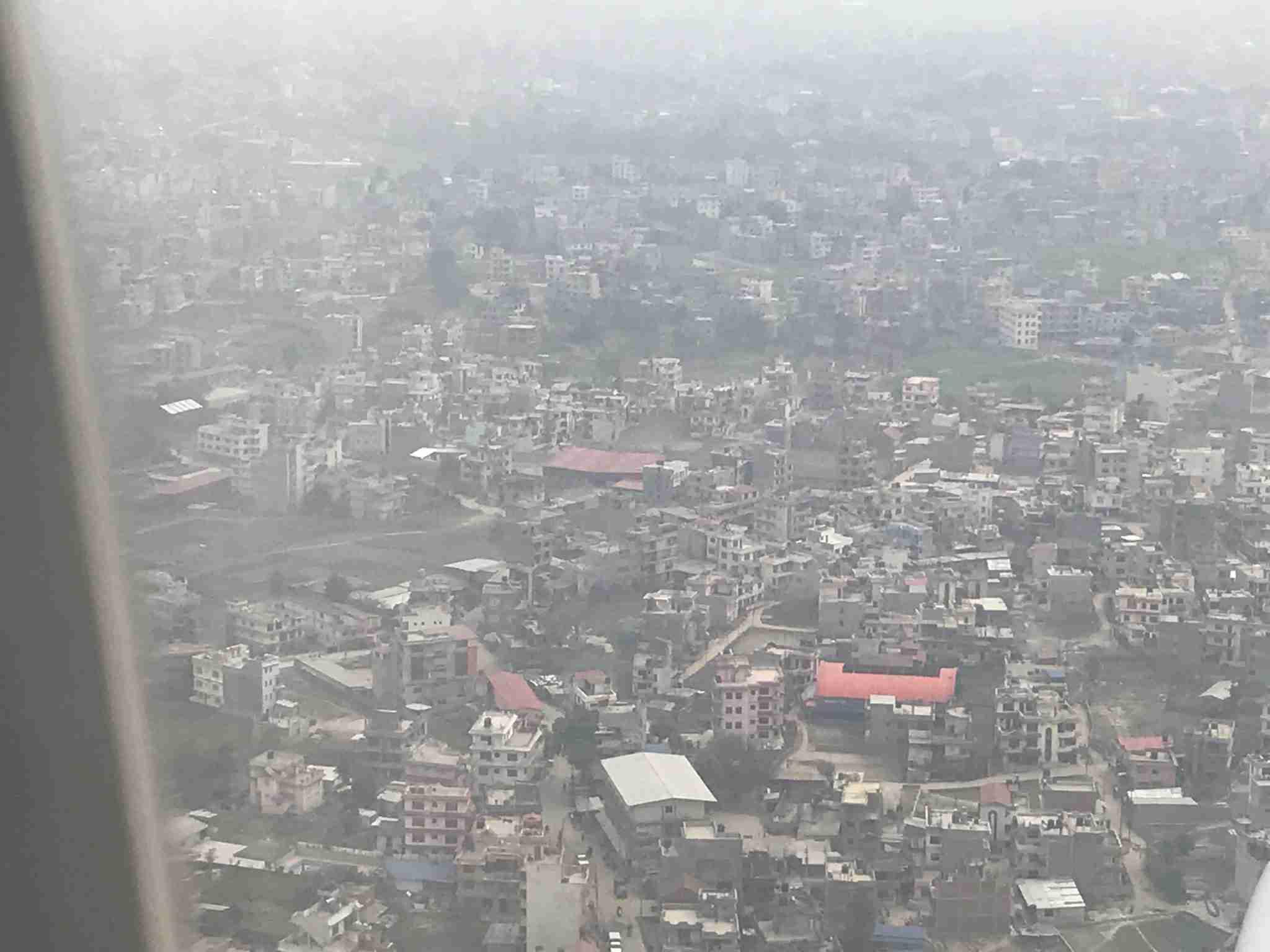 View to Kathmandu
