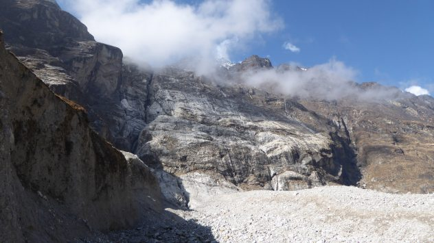 Bergsturz Langtang