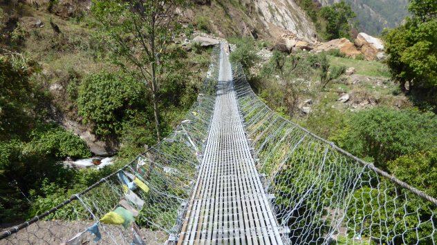 lange Hängebrücke