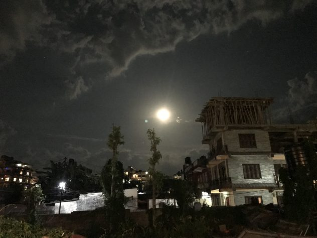 Full Moon over Pokhara