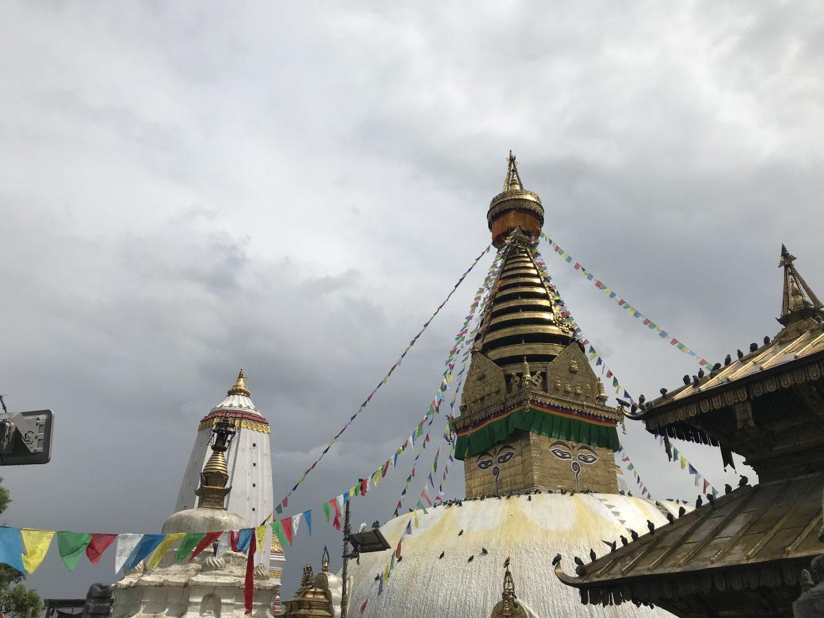 Trekking in Nepal - Swayambunath in Kathmandu