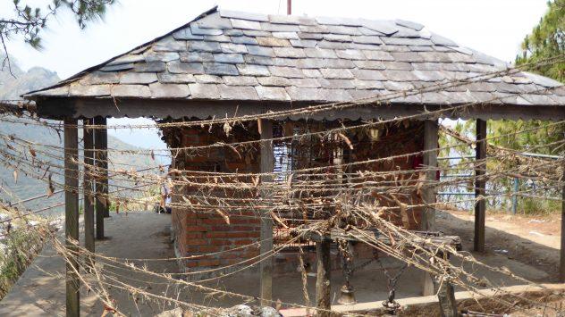 Tempel auf dem Kadchi Mai