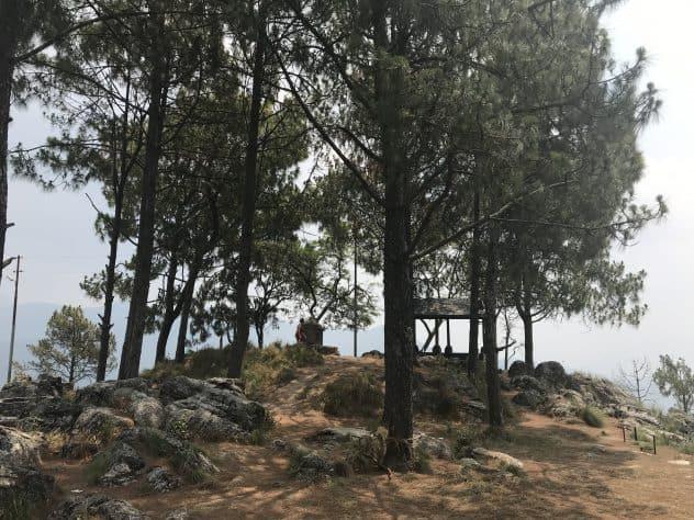 Gipfel des Tadchi Mai