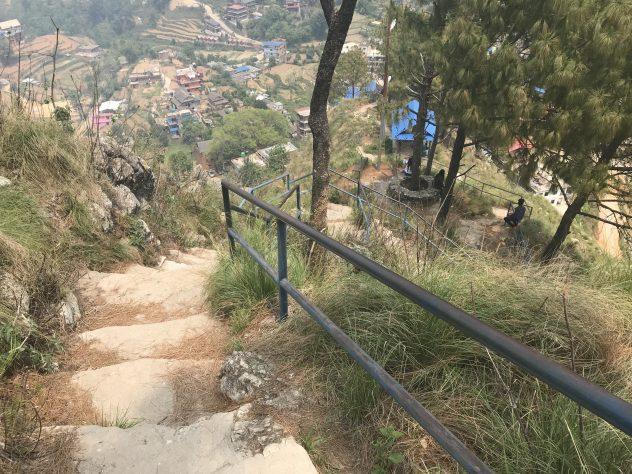 endlose Stufen