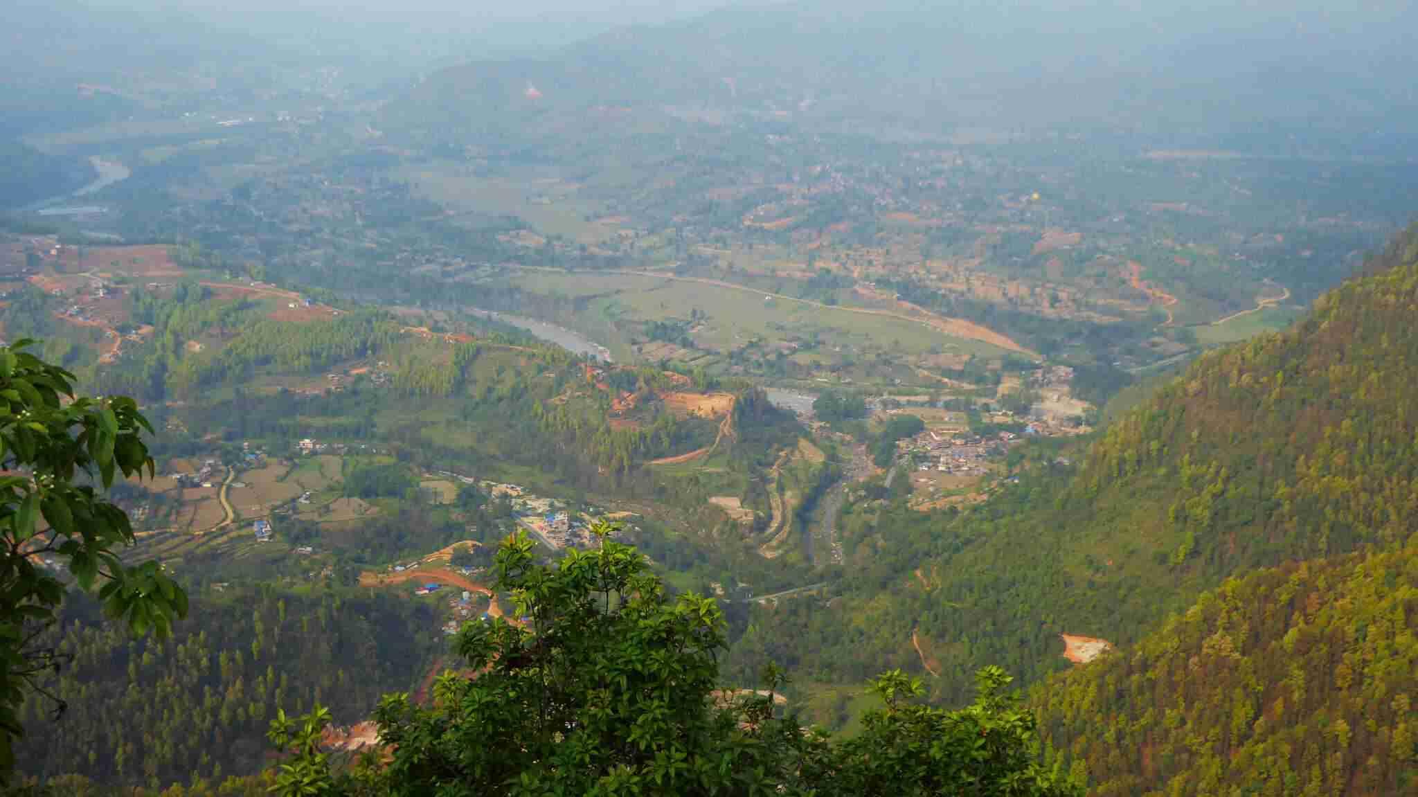 View from Tudikhel