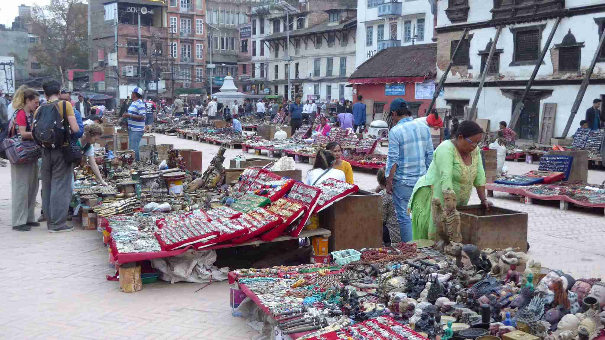 Stalls at Durbar Square