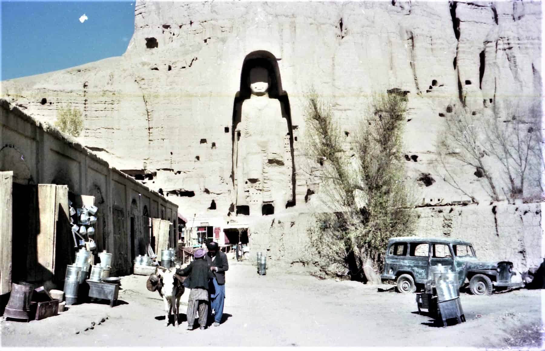 Bamyan Buddja statues