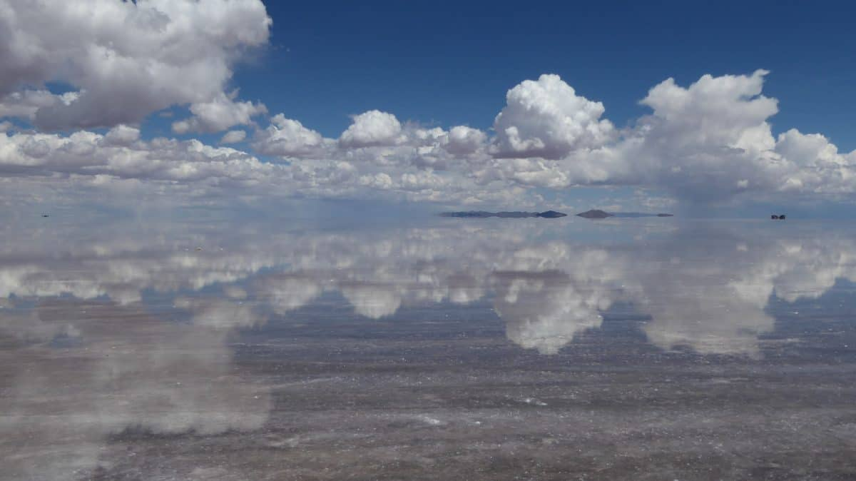 Backpacking in South America - Salar de Uyuni in Bolivia
