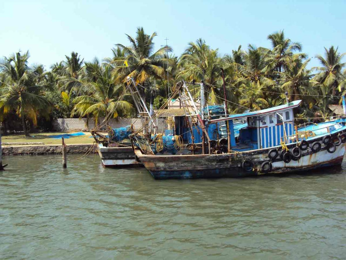 Backpacking in Indien - Kerala Backwater Tour
